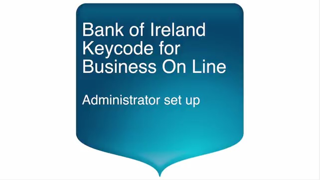 Get ready for keycode bank of ireland business banking overview reheart Images